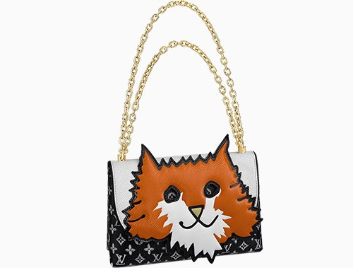 Louis Vuitton Orange Cat Bag thumb