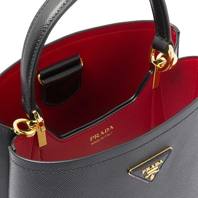 Prada North South Double Bag