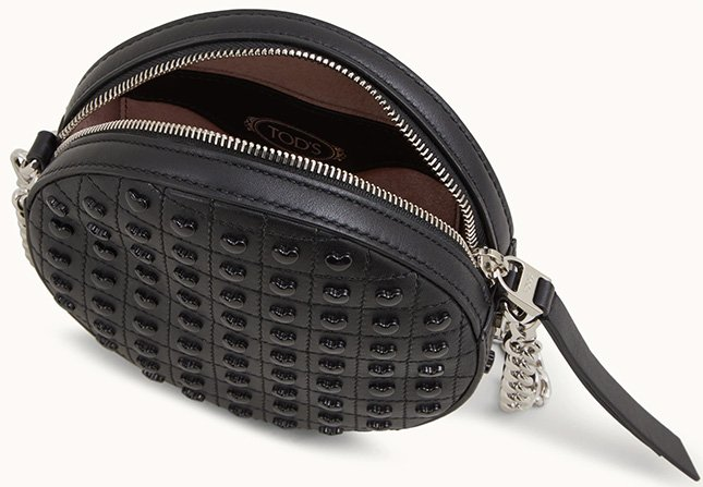 Tods Studded Round Bag