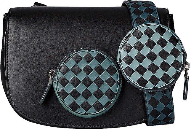 Bottega Intrecciato Checker Bag To Watch