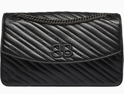 Balenciaga All Black BB Bag thumb