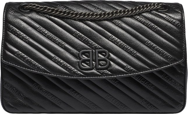 Balenciaga All Black BB Bag
