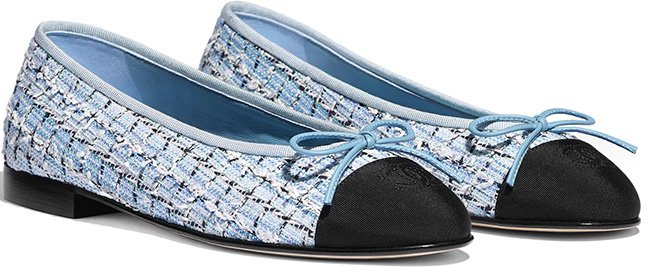 Chanel Flat Ballerinas For Cruise Collection