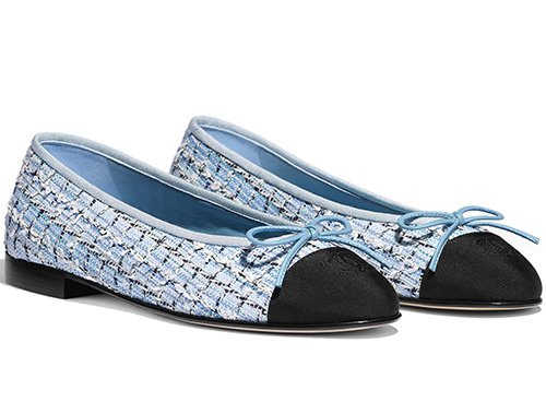 Chanel Flat Ballerinas For Cruise Collection thumb