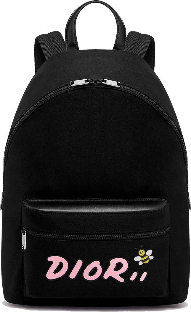Dior x Kaws Nylon Backpack