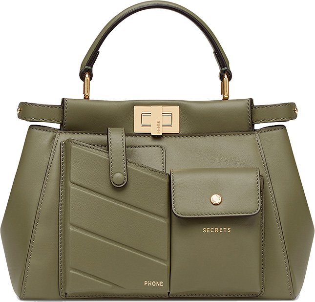 Fendi Peekaboo Pocket Bag