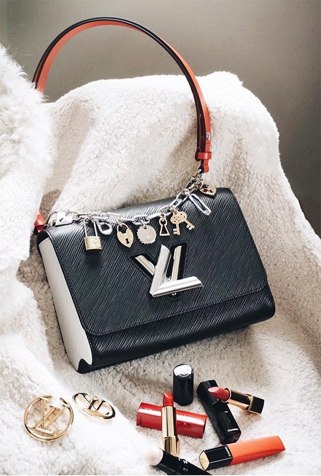 Louis Vuitton Love Lock Charm Twist Bag