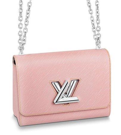 Louis vuitton twist bag pink