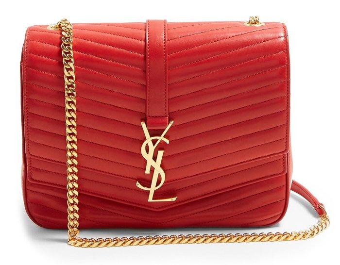 Saint laurent bag red