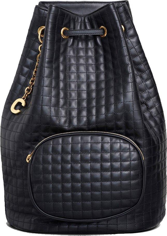 Celine C Charm Bucket Bag