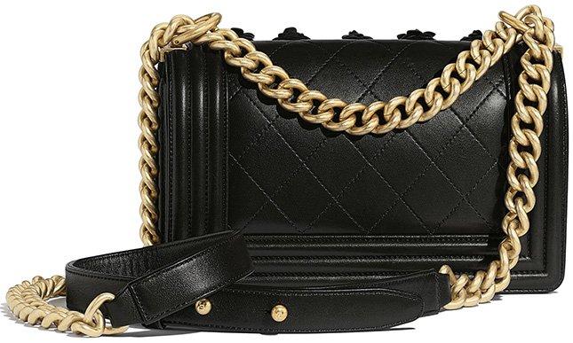 Chanel Boy Camellia Bag