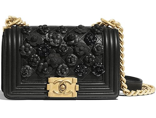Chanel Boy Camellia Bag thumb