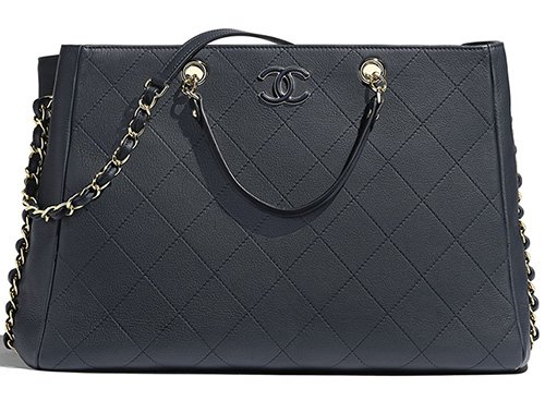 Chanel Bullskin Shopping Bag thumb