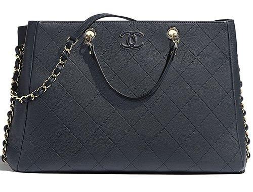 Chanel Bullskin Shopping Bag thumb