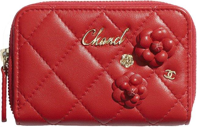 Chanel Camellia CC Charm Accessories