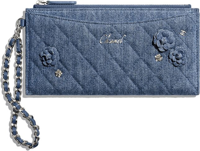 Chanel Flower Clutch With Chain