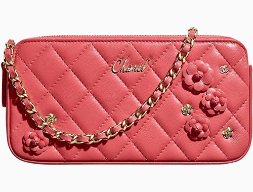 Chanel Flower Clutch With Chain thumb