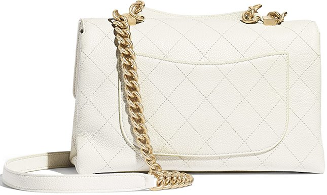 Chanel Grained Calfskin Flap Bag