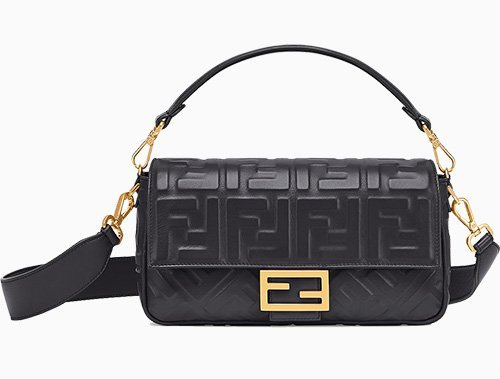 Fendi FF Motif Baguette Bag thumb
