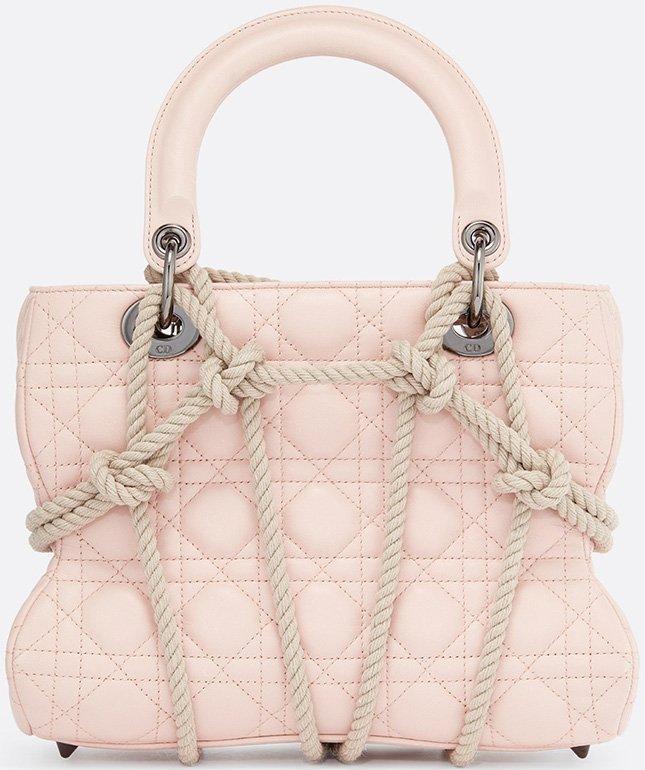 Lady Dior Robe Bag by Morgane Tschiember