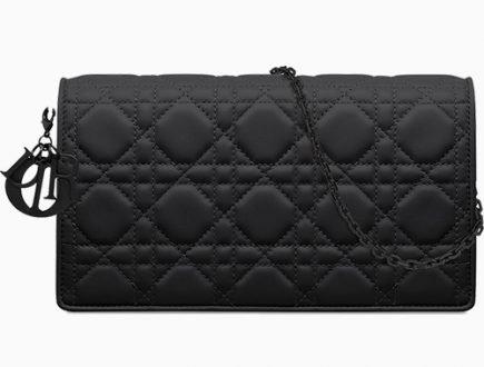 Lady Dior Ultra Black Shoulder Bag thumb