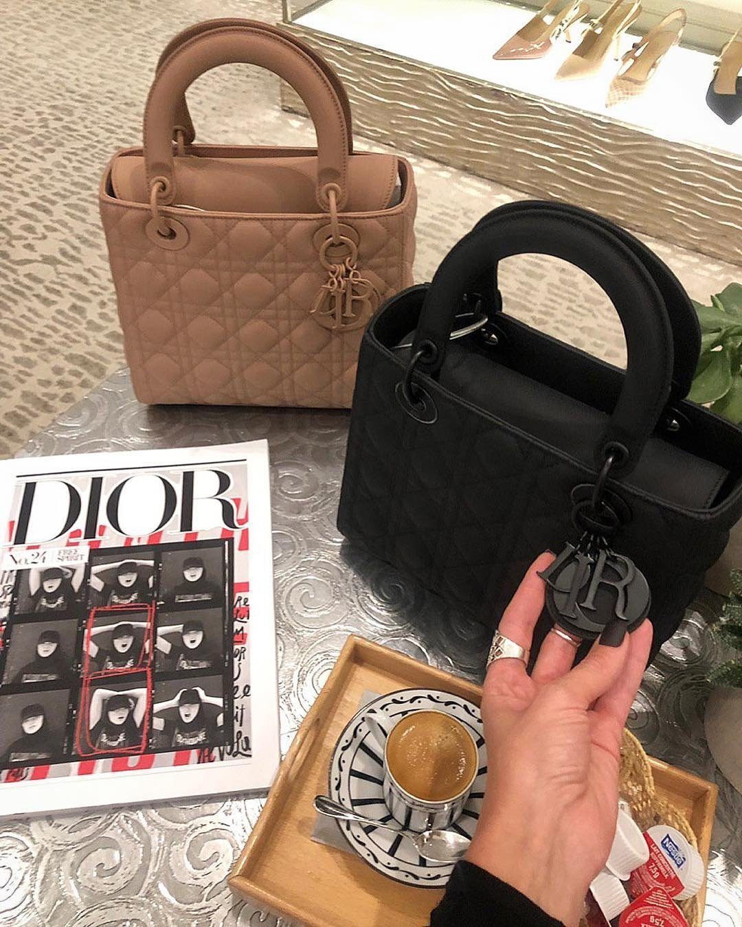 Lady Dior Ultra Matte Bag