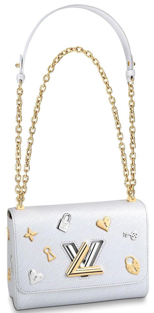 Louis Vuitton Twist Love Lock Charms On Bag