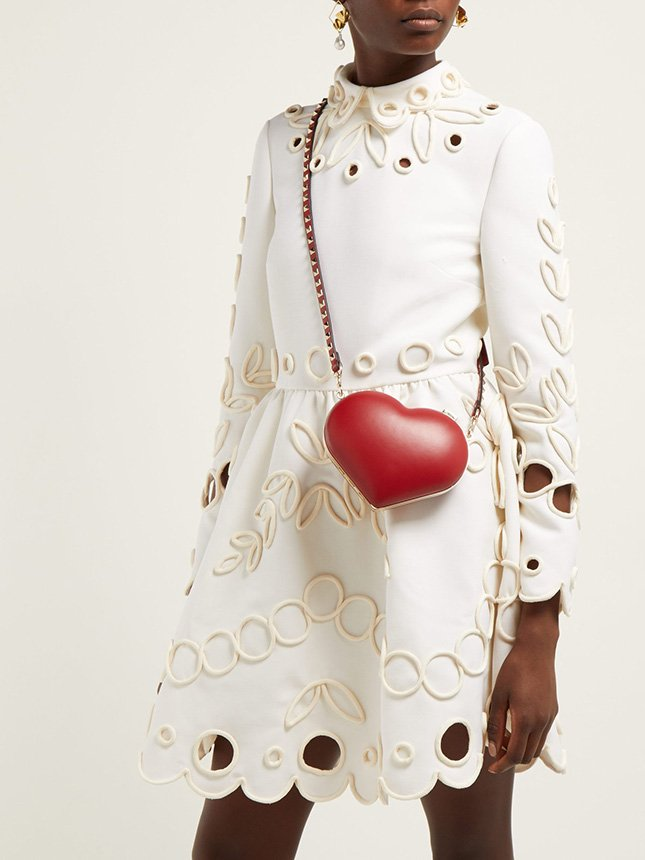 Valentino Carry Secret Heart Clutch