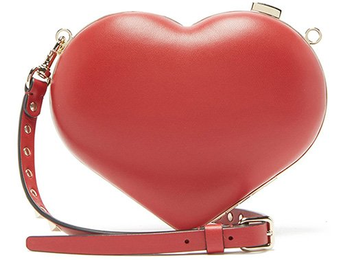 Valentino Carry Secret Heart Clutch thumb