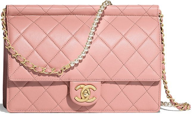 Chanel Pearl Bags From The Spring Summer Collection