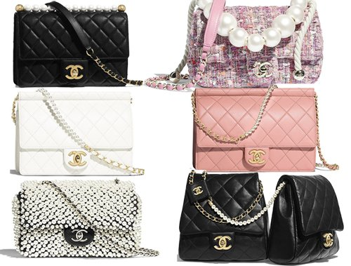 chanel pearl bag thumb