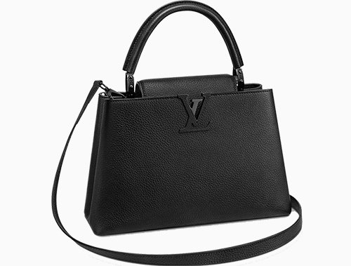 Louis Vuitton All Black Bags thumb