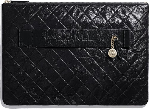 Chanel Case With Pearl Charm And Handclasp thumb