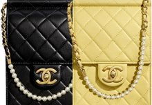 a17373df096a36 Chanel Classic Vertical Pearl Clutch With Chain · DiorOdeo Flap Bag