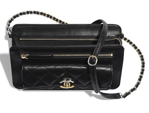 Chanel Clutch With Chain With Front Pocket thumb