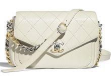 fb2f3eb94c8a Chanel Envelope-Shaped Flap Bag With Bi-color Hardware