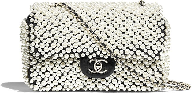 Chanel Overall Pearl Bag