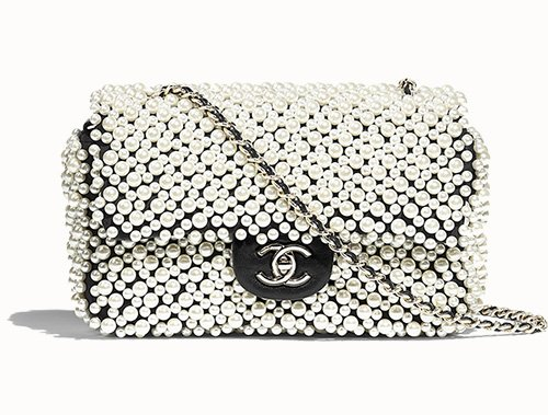 Chanel Overall Pearl Bag thumb