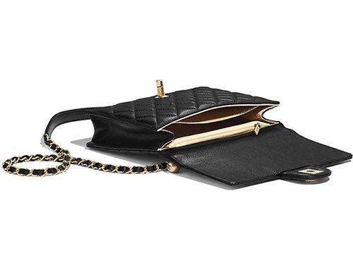 Chanel Short Pearl Handle Bag thumb