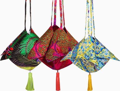 Hermes Petite H Silk Twill Bag thumb