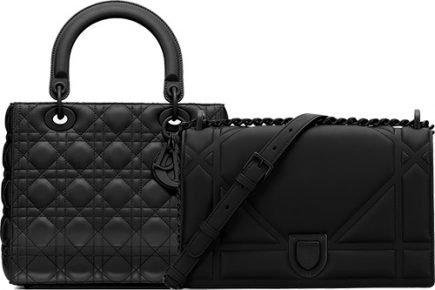 Top Dior Ultra Black Bags thumb
