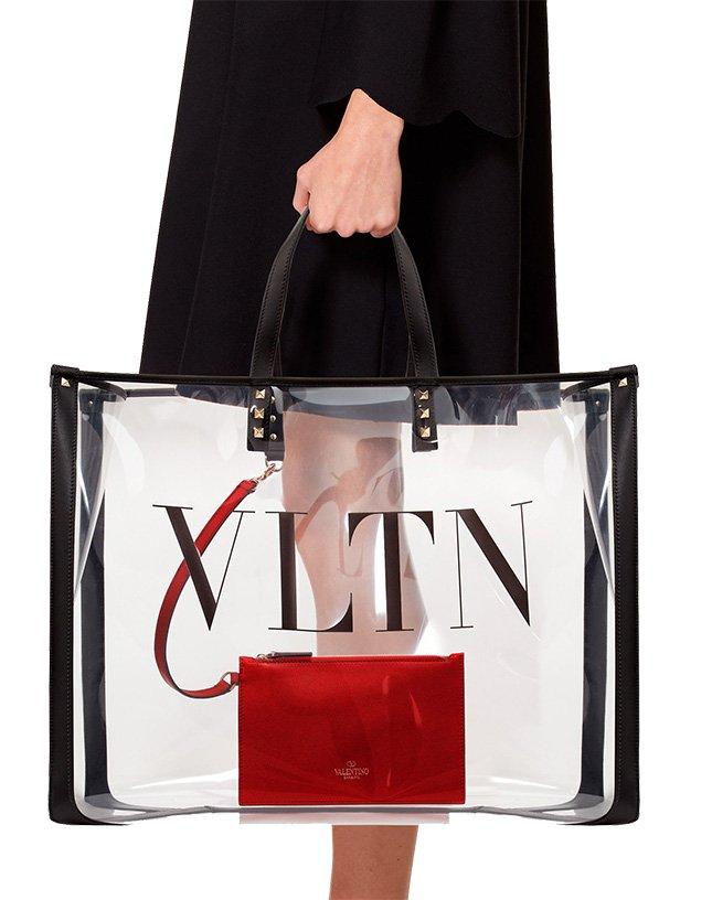 Valentino VLTN Plexi Bag