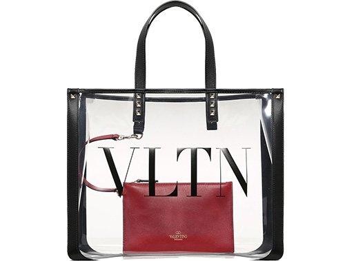 Valentino VLTN Plexi Bag thumb
