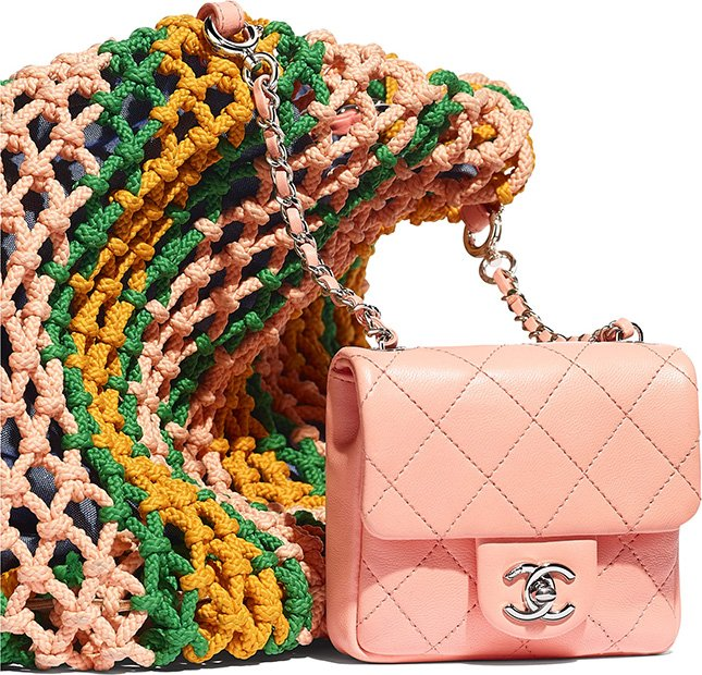 Can You Detach The Mini Flap Bag From This Chanel Shopping Bag