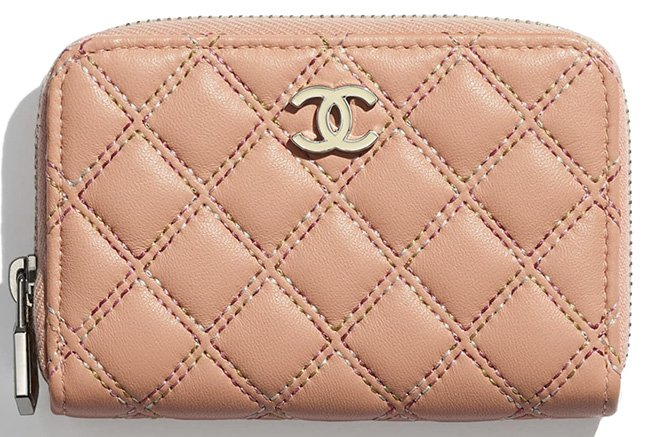 Chanel Multicolor Quilted Stitch Accessories