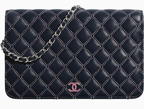 Chanel Multicolor Quilted Stitch Accessories thumb