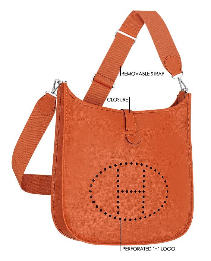 Hermes Evelyne Bag design