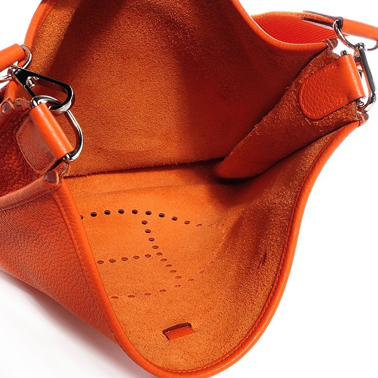 Hermes Evelyne Bag Interior