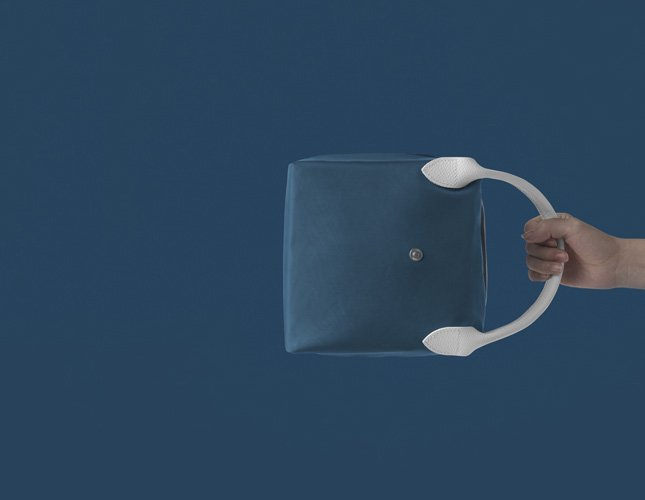 Longchamp x Nendo Katachi Bag collection