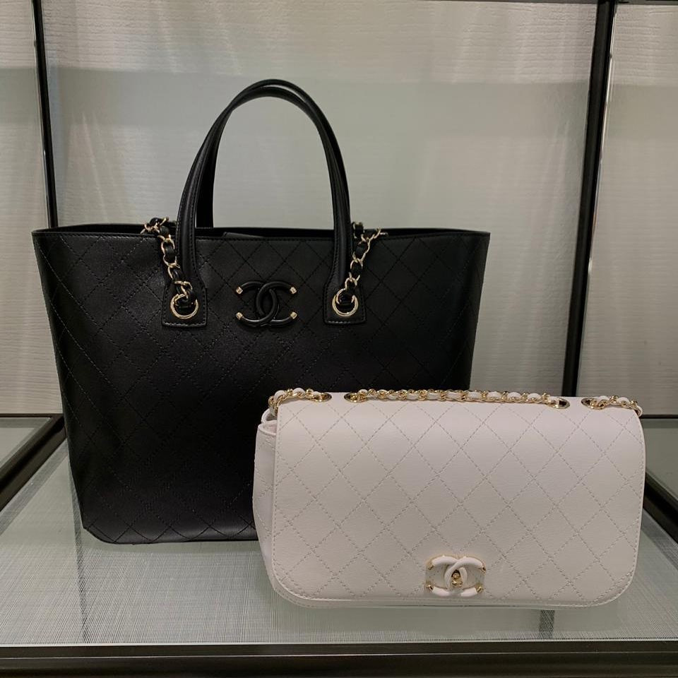 The Affordable Sister Of The Chanel CC Filigree Bag